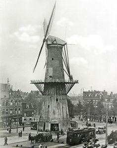molen in ventrum Rotterdam 1935