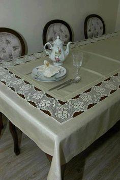 dantel mutfak takımı ve tepsi örtüleri (54)