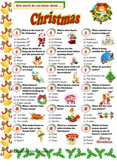 Christmas Quiz                                                                                                                                                                                 More