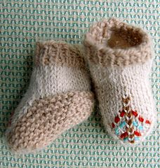 Ravelry: Baby Moccasins pattern by Purl Soho