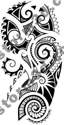 Maori tattoo shoulder design by MaoriTattoo.deviantart.com on @deviantART