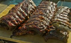 chocolate chile barbecue sauce- AMAZING, making this today and smoking it over apple wood :D