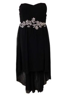 XCLUSIVE NEW LADIES PLUS SIZE JEWEL STONE BANDEAU BOOB CHIFFON DROP BACK HEM DRESS 12-26 (18, BLACK) Unknown, http://www.amazon.co.uk/dp/B00A27KBGY/ref=cm_sw_r_pi_dp_n54bsb0MWQ8WY