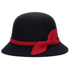 2017 New Autumn Winter Noble European American Elegant Girls Fashion Cap Ladies Bucket Hat Women Wool Fedora Hat with Leaf