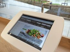 Waitrose has installed these tablet devices in swindon branch. Check it here http://retaildesignlondon.blogspot.co.uk/2014/05/new-technologies-in-waitrose-in-swindon.html
