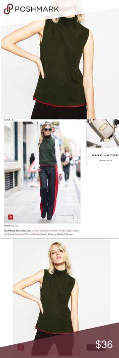 🎁 ZARA//sleeveless knit M NWT 🔥🔥🔥 new with tags Zara Sweaters