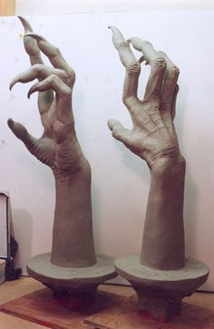 Creature hands for a witch-like, werewolf, or any other supernatural creature