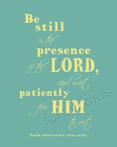 Bible Verses Verses To Print   Psalm 377 Bible Verse digital printable word art by fullerwords