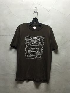 vintage t shirt 80s Jack Daniels Tennessee by imtryingtofocus