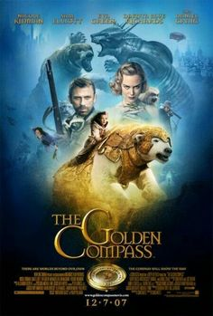 The Golden Compass is a 2007 fantasy adventure film based on Northern Lights, the first novel in Philip Pullman's trilogy His Dark Materials. Written and directed by Chris Weitz https://en.wikipedia.org/wiki/The_Golden_Compass_(film) (fr=À la croisée des mondes : La Boussole d'or)