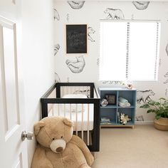 We can hardly bear how cute this nursery is!   Image: @arizonacraftco