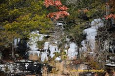 Ice, Falls, Digital, Download, Winter, Photo, Photography, Arkansas, Art, Collectibles, by LittleMomentsPhotos on Etsy