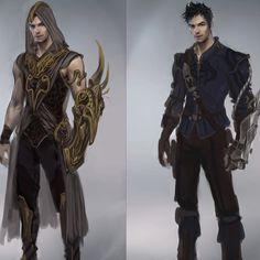 variation sketches of male character suit, 2012
