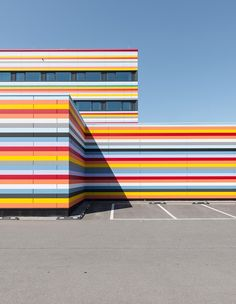 Berlin Architecture by Christopher Domakis, via Behance