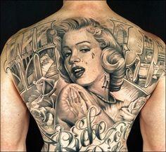 Antonio Macko Todisco - Marilyn Monroe Pin Up Tattoo