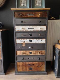 Vintage Ladenblok | Van Ouds Meubelen