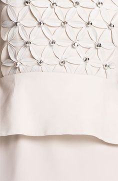 Diane von Furstenberg 'New Delian' Mixed Media A-Line Dress | Nordstrom