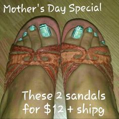 Mother's Day Special 2 for $12 + shippin