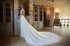 Sheath Wedding Dress : Berta Bridal 2015 Collection | www.aisleperfect.com #wedding #gowns #weddingdres