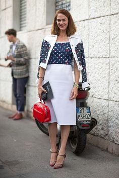 J.J. Martin Street Style Milan Fashion Week 2014
