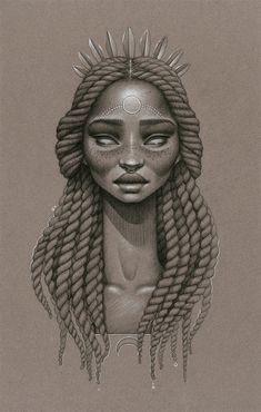 inspirations graphiques illustration Sara Golish   Moondust