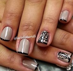 French type nails