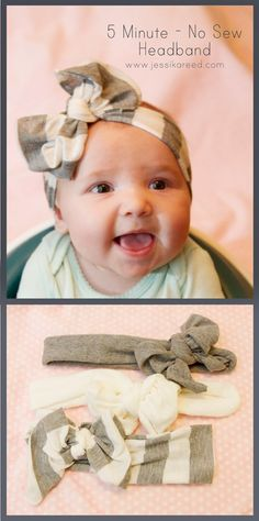 5 Minute No Sew DIY Headband Tutorial
