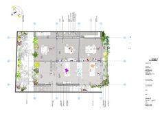 Protótipo Bioclimático de Edifício Jardim,Planta Segundo Pavimento