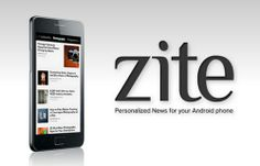 Latest Android app zite is free
