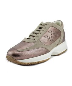 HOGAN Hogan New Interactive H Forata    Leather  Fashion Sneakers'. #hogan #shoes #sneakers