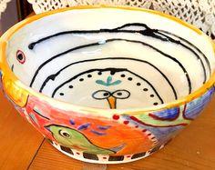 Bird Bowl No. 5 - by Suzi Dennis