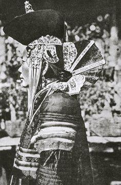 khalkha Mongolian married noble woman.