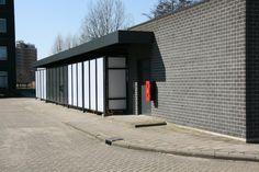 Terreininrichting op maat voor Crucell Holland