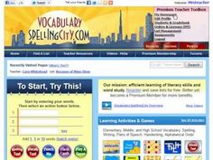Improve knowedge of vocabulary words with spelling practice from VocabularySpellingCity. Our engaging phonics games for kids help students become spelling masters. Word Work Activities, Vocabulary Activities, Literacy Skills, Spelling City, Spelling Practice, Sight Word Apps, Phonics Games For Kids, Student Teaching, Teaching Ideas