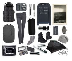 """""""darkable hiker"""" by kikilea ❤ liked on Polyvore featuring Incase, ALDO, Lot78, Wildfox, Anna Field, Patagonia, Bodum, Poler, ALPS Mountaineering and Kent"""