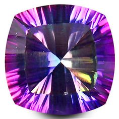 Topaz 10270: 5.23 Ct Aaa+ Supreme Cushion Shape (10 X 10 Mm) Mystic Blue Topaz Loose Gemstone -> BUY IT NOW ONLY: $34.99 on eBay!