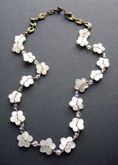 another pretty button necklace                                                                                                                                                      More