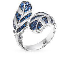 Кольцо из серебра с шпинелем синтетической OKAMI: белое серебро 925 пробы, шпинель синтетическая — купить в интернет-магазине SUNLIGHT, фото, артикул 43568