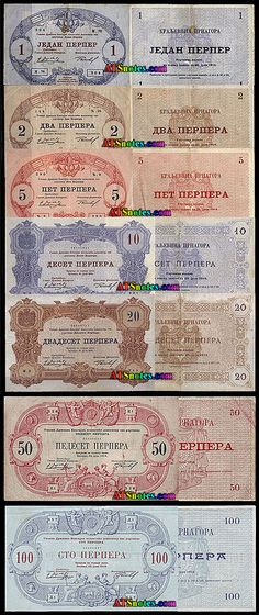 Montenegro Currency | ... - Montenegro paper money catalog and Montenegrian currency history