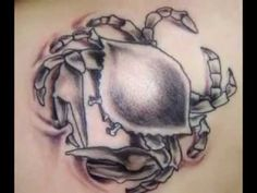 Crab Tattoos - Zodiac Cancer Designst
