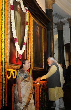 PM Modi paid homage to the former Prime Minister, Shri Morarji Desai