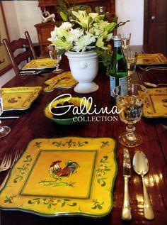 Le Cadeaux Gallina Dinnerware