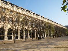 #PalaisRoyal #arcades and #gardens in #Paris #France