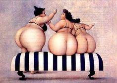 Humor painter, Jeanne Lorioz