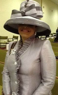 Lady Randle in Louise D.Patterson Couture by Joyce Richardson