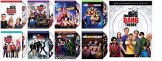 The Big Bang Theory Seasons 1-9 (DVD)