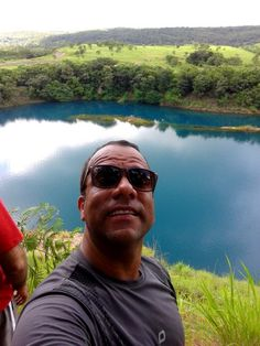 Lago Azul Mara Rosa -Goias Brasil