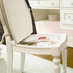 Gabriella Storage Chair. Pretty sure I need as much storage as I can possibly get. This is perfect!