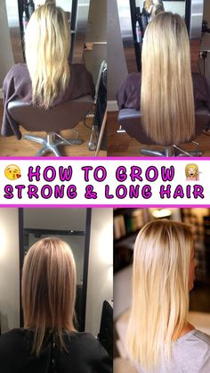 Quit using hair extensions and grow your hair naturally without cutting it. Find out how: