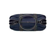 Hermès | AW16 | Garden Party 36 Pockets | Bag in Country cowhide with military canvas lining, silver- and palladium-plated hardware, inside zip pocket and adjustable strap | Dimensions: L 36 x H 26 x D 17 cm | Ref. H070502CKAA BLEU MARINE/NOIR | CA$4,235